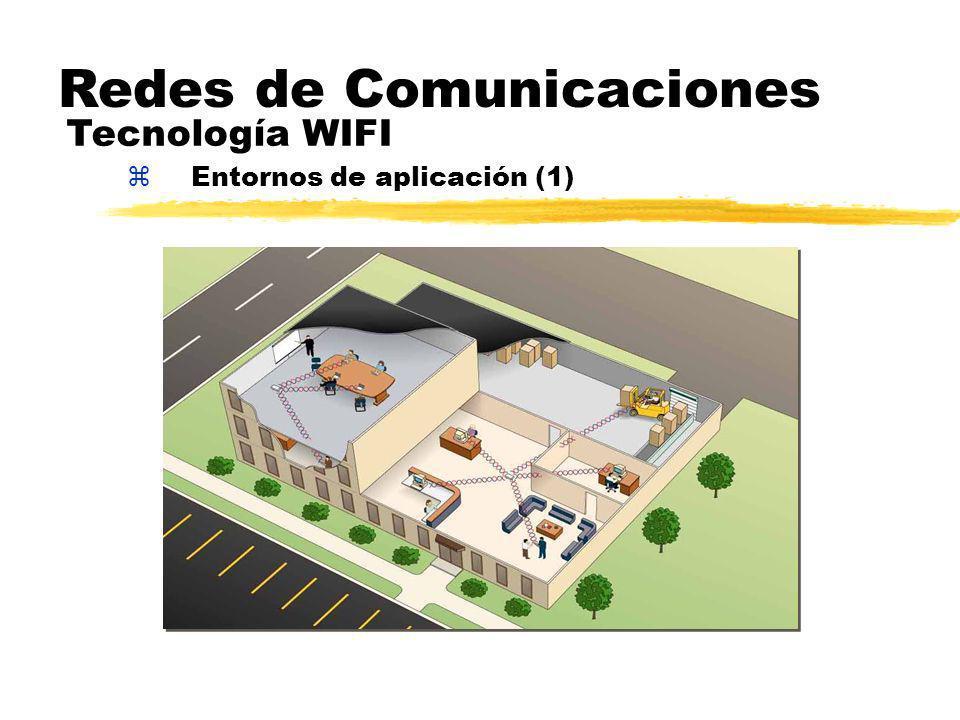 zEntornos de aplicación (1) Redes de Comunicaciones Tecnología WIFI
