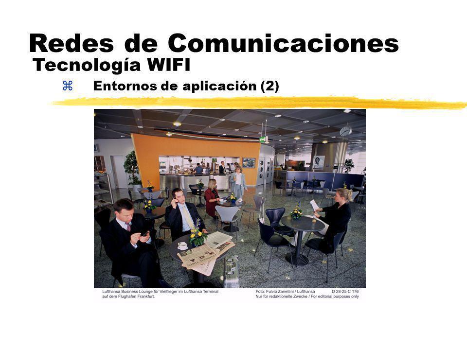 zEntornos de aplicación (2) Redes de Comunicaciones Tecnología WIFI