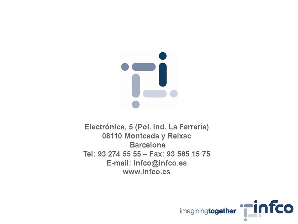 Electrónica, 5 (Pol. Ind.