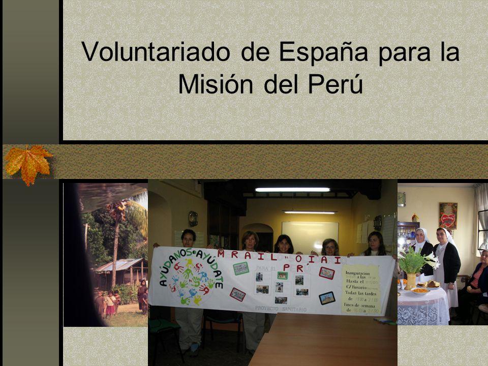 Voluntariado de España para la Misión del Perú