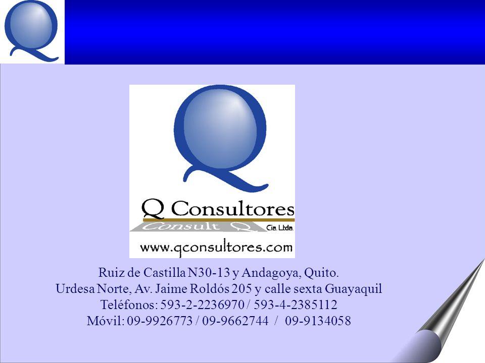 Ruiz de Castilla N30-13 y Andagoya, Quito.Urdesa Norte, Av.