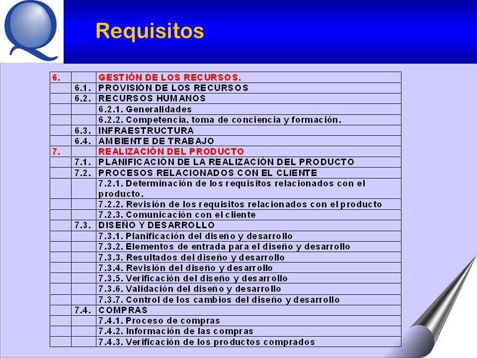 POLÍTICA DE CALIDAD : a)Adecuada al propósito de la Organización.