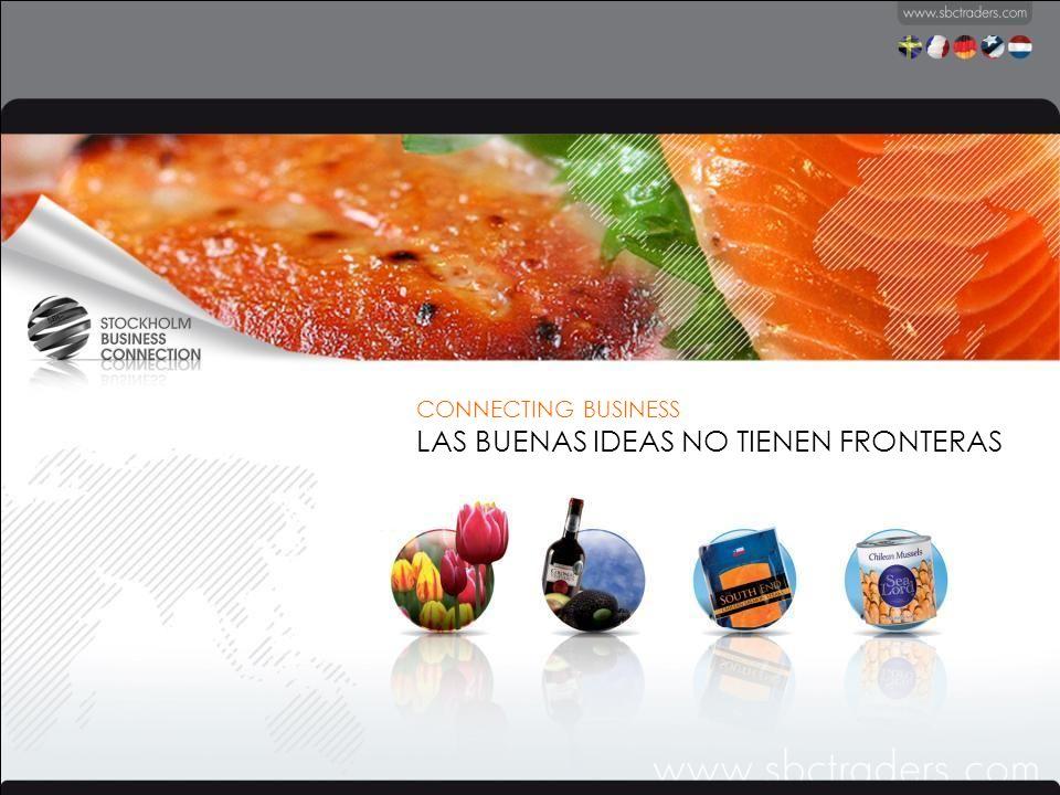 Somos SBC TRADERS, una empresa internacional dedicada exclusivamente al acercamiento comercial entre Sudamérica y Europa.