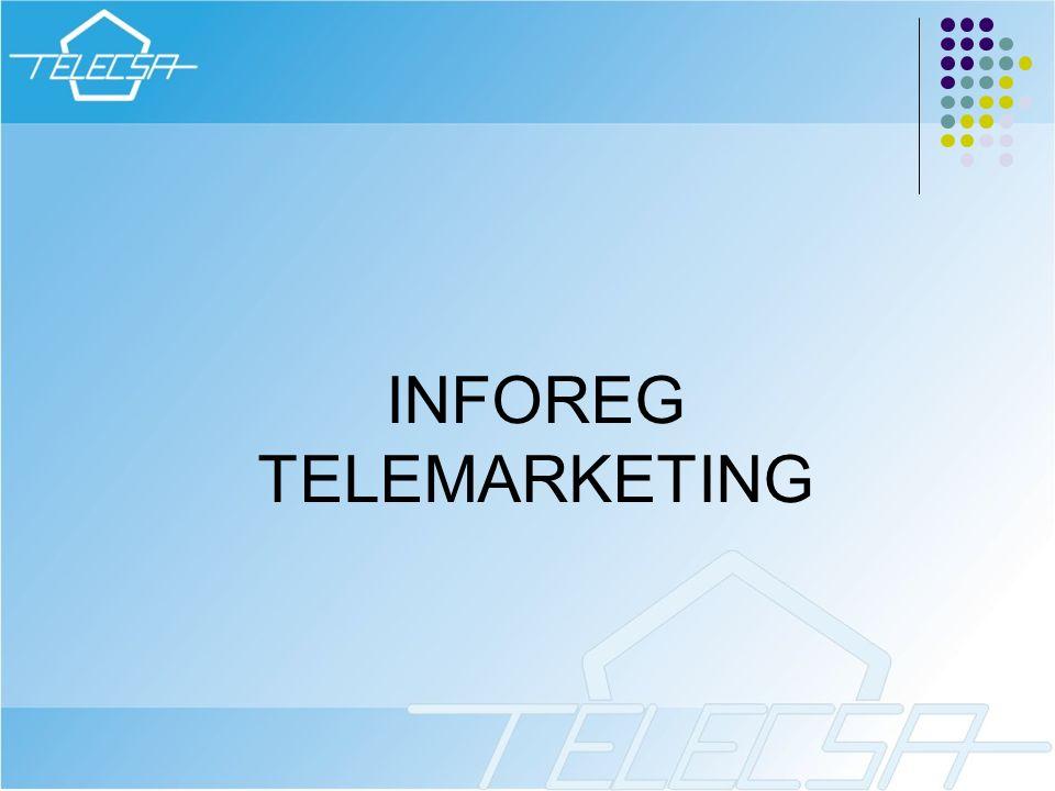 INFOREG TELEMARKETING