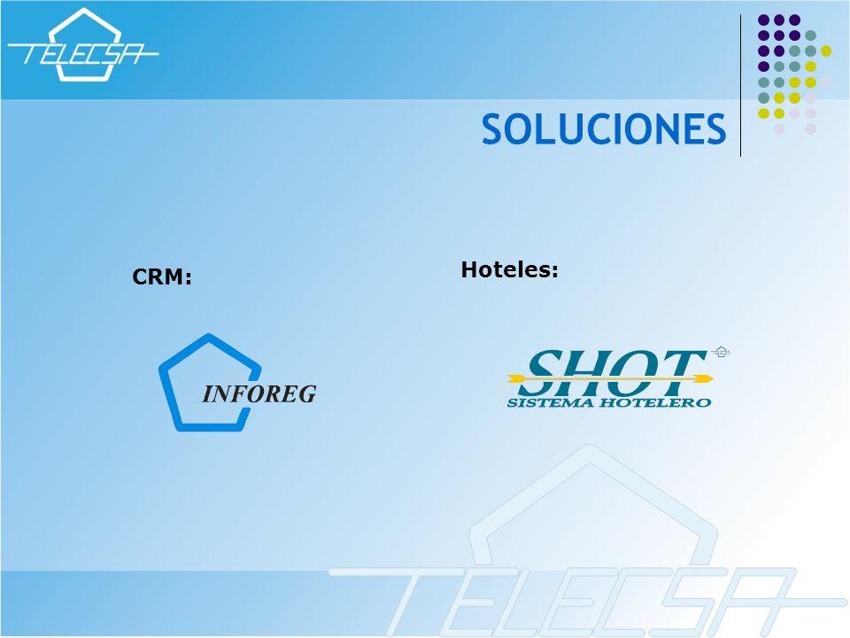 CRM: Hoteles: SOLUCIONES