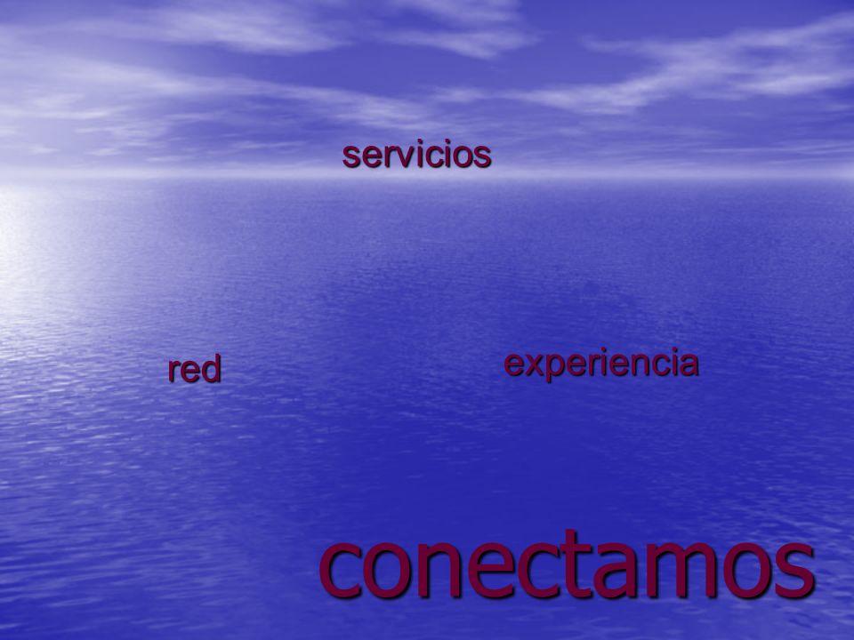conectamos experiencia red servicios