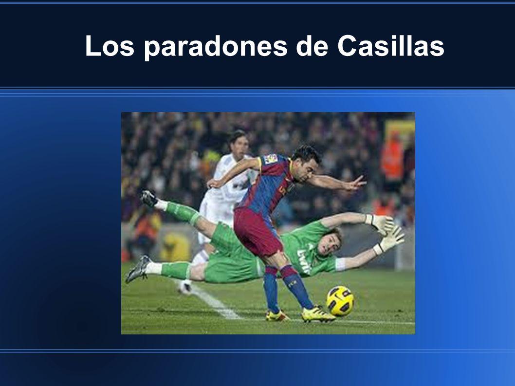 Los paradones de Casillas