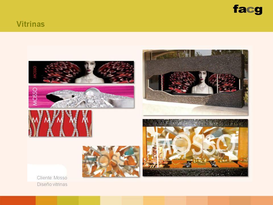 Cliente: Mosso Diseño vitrinas Vitrinas
