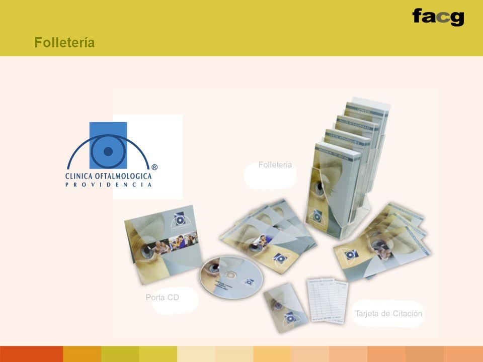 Folletería Porta CD Tarjeta de Citación Folletería