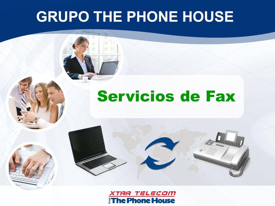 Servicios de Fax