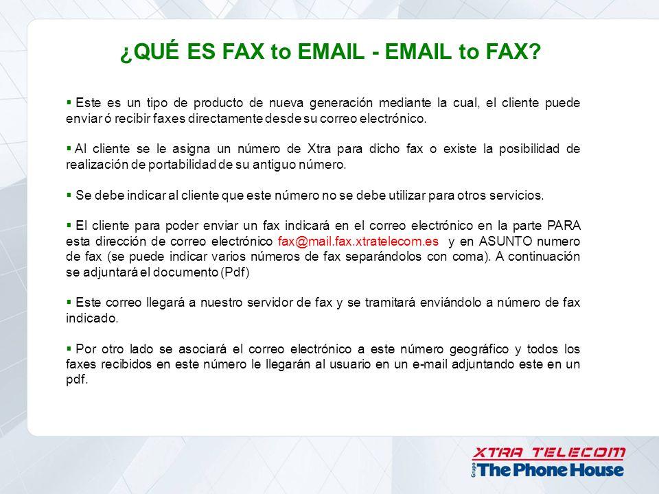 ¿QUÉ ES FAX to EMAIL - EMAIL to FAX? Este es un tipo de producto de nueva generación mediante la cual, el cliente puede enviar ó recibir faxes directa