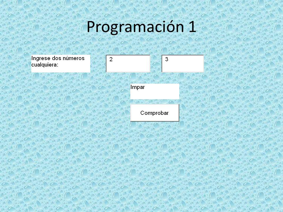 Programación 8