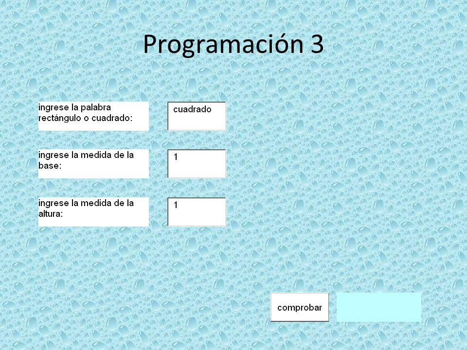 Programación 3