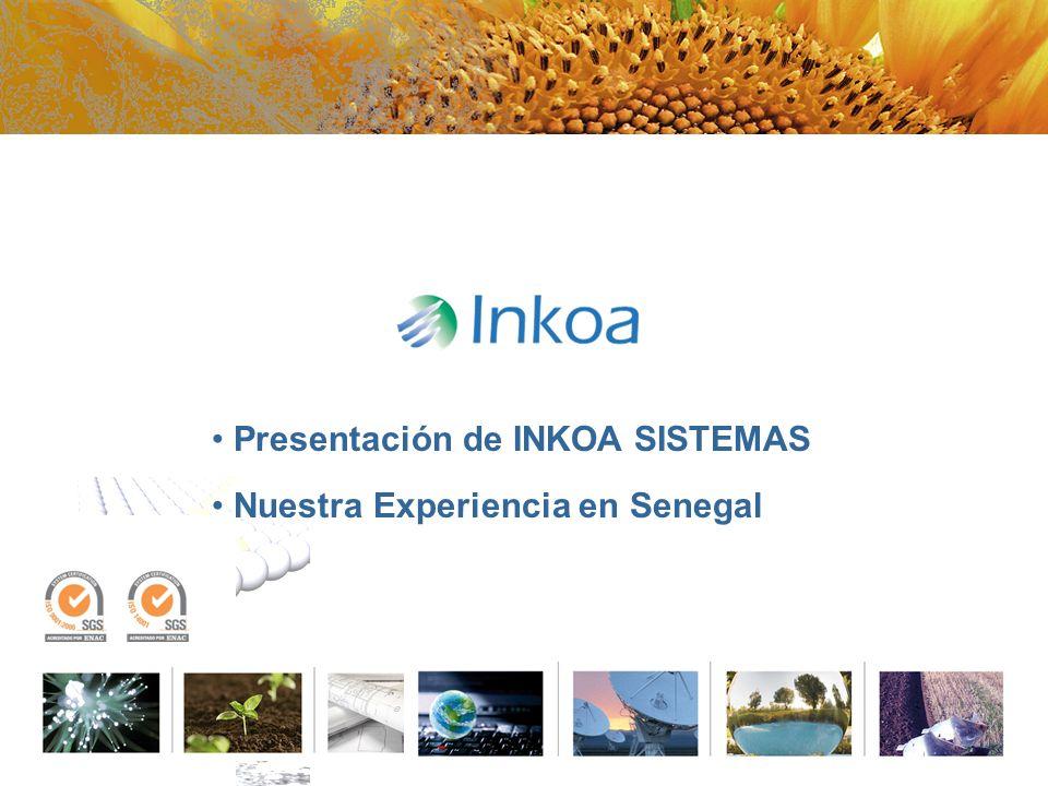 Presentación de INKOA SISTEMAS Nuestra Experiencia en Senegal
