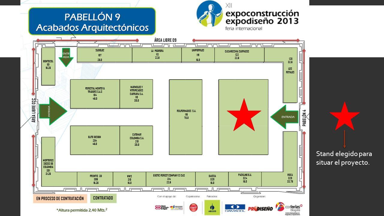 ALQUILER DEL ESPACIO (LOCAL) Mobiliario y servicios Panelearía y energía básica para cada stand.