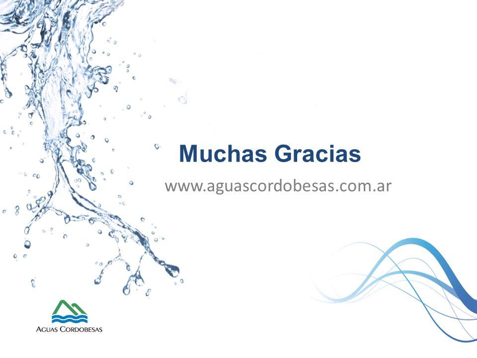 Muchas Gracias www.aguascordobesas.com.ar