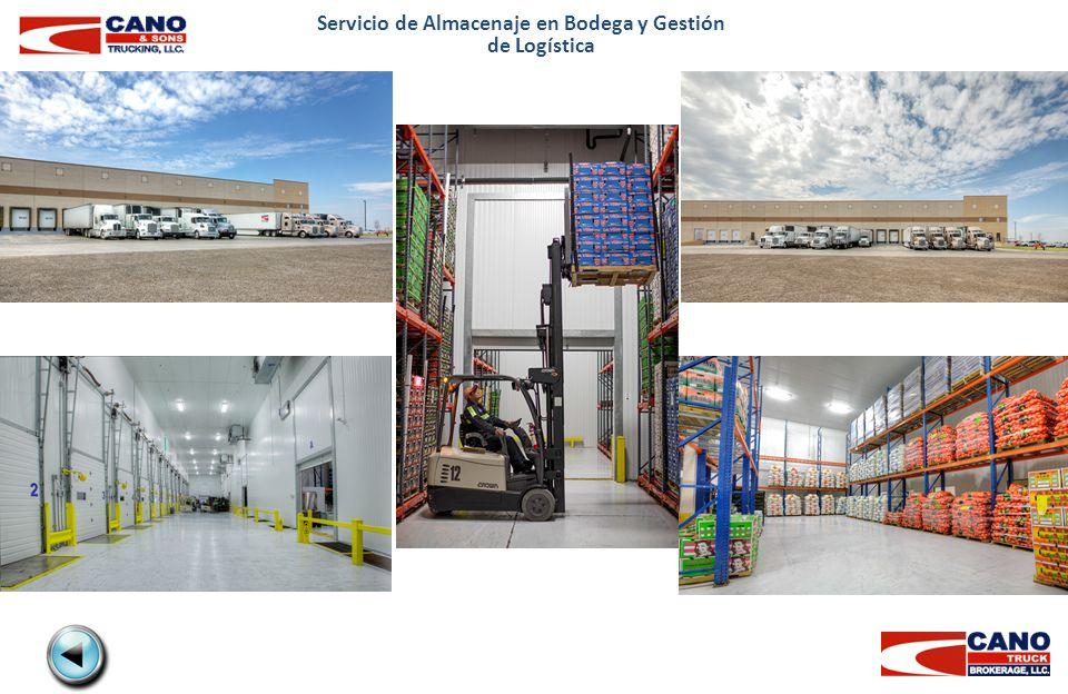 Servicio de Almacenaje en Bodega y Gestión de Logística
