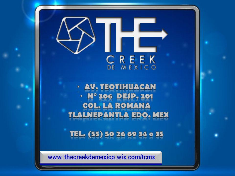 www. thecreekdemexico.wix.com/tcmx