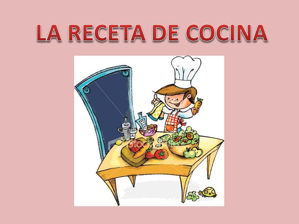SITUACIÓN DIDÁCTICA Elaboración de una receta de cocina.