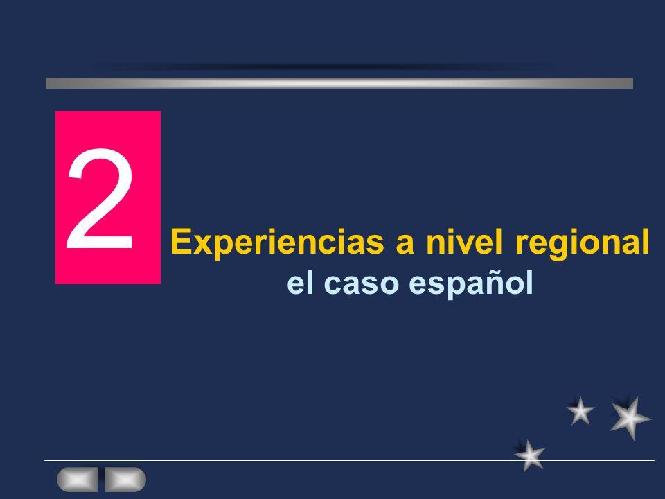 Experiencias a nivel regional el caso español 2