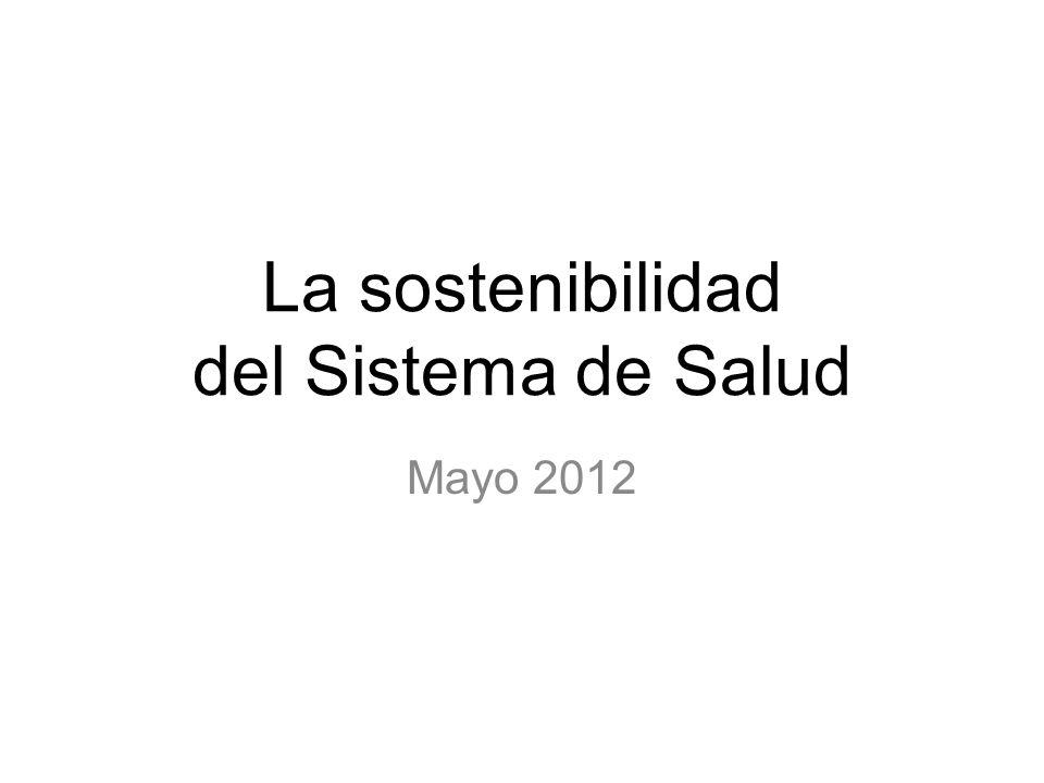 La sostenibilidad del Sistema de Salud Mayo 2012