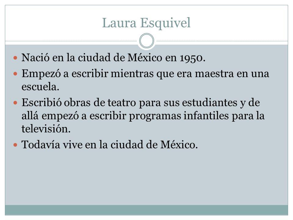 Nació en la ciudad de México en 1950.Empezó a escribir mientras que era maestra en una escuela.