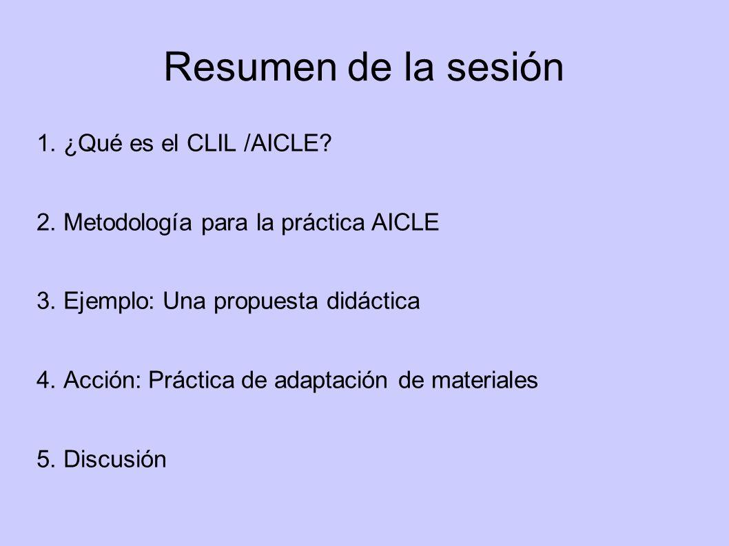 ¿Qué herramientas tiene el profesor de CLIL?
