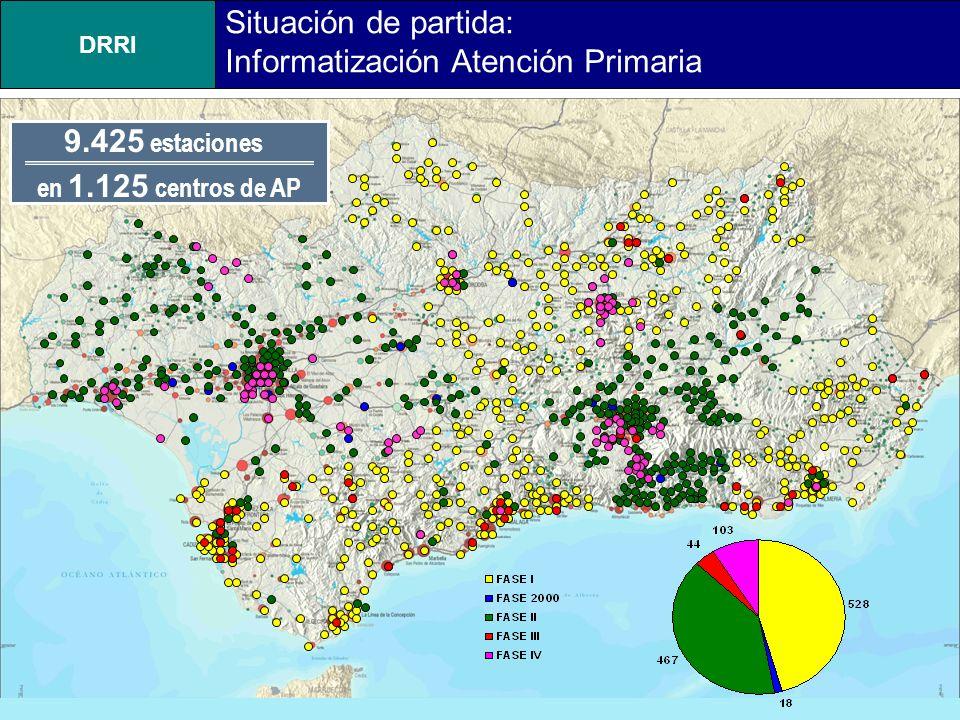 DRRI Andalucía Occidental.Nodo Principal Sevilla Andalucía Oriental.