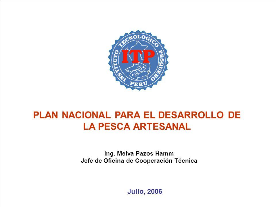 OBJETIVO 5: FOMENTAR UNA CULTURA ARRAIGADA EN EL CONSUMO DE RECURSOS HIDROBIOLÓGICO Ing.
