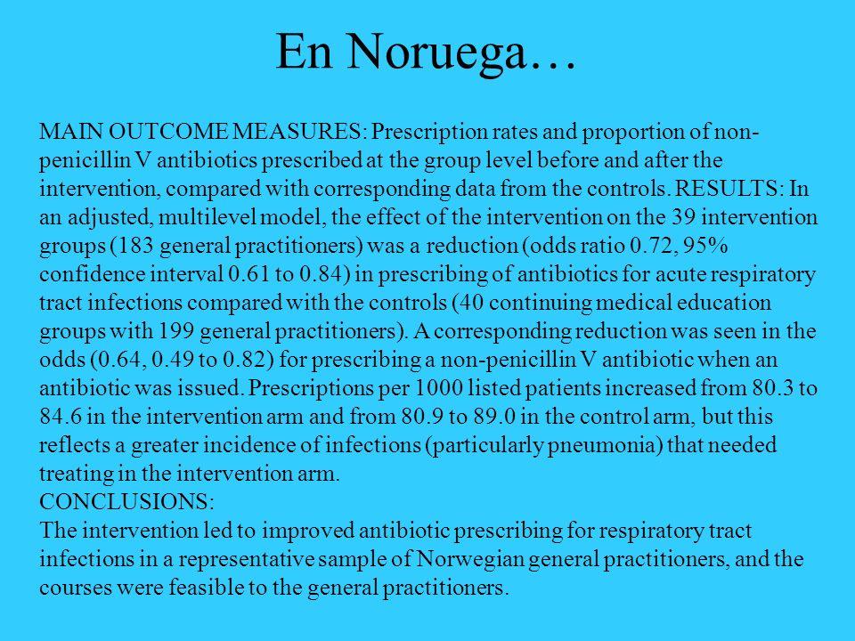 La Comunidad Médica aún no ha aceptado el desafío de mejorar la Terapéutica.
