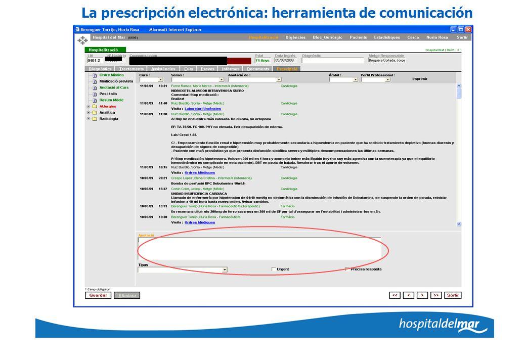 La prescripción electrónica: herramienta de comunicación