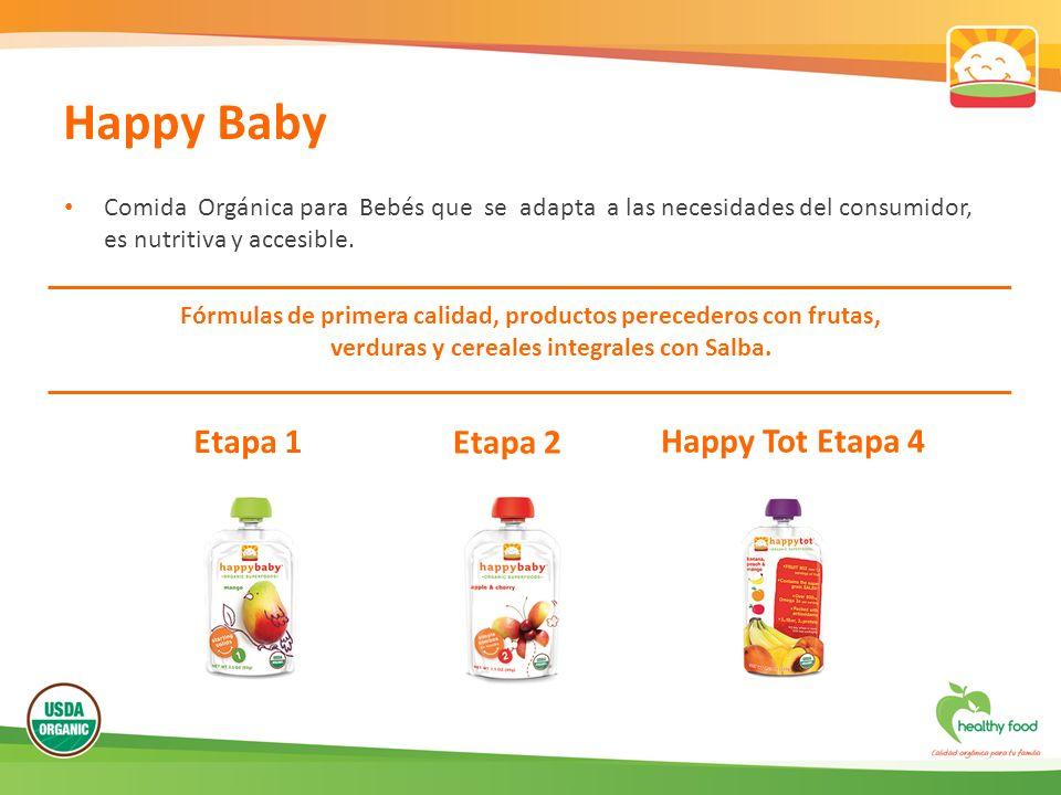 Comida Orgánica para Bebés que se adapta a las necesidades del consumidor, es nutritiva y accesible. Fórmulas de primera calidad, productos perecedero