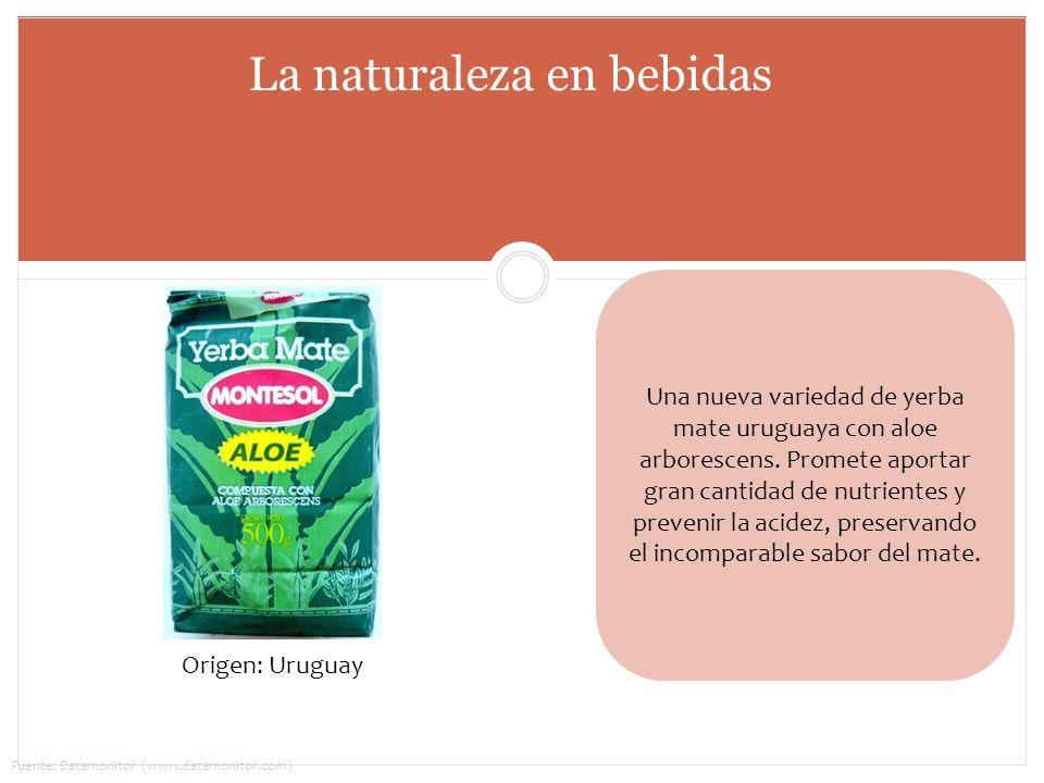 Una nueva variedad de yerba mate uruguaya con aloe arborescens. Promete aportar gran cantidad de nutrientes y prevenir la acidez, preservando el incom