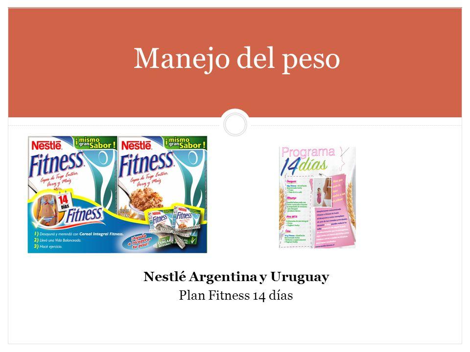 Nestlé Argentina y Uruguay Plan Fitness 14 días Manejo del peso