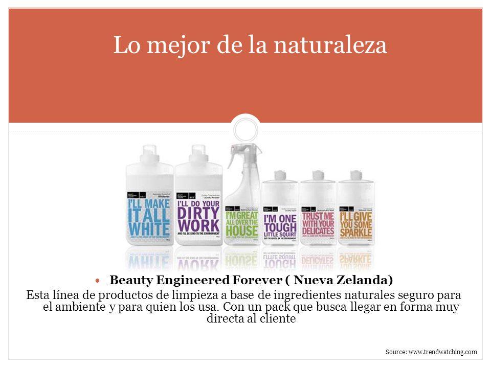 Lo mejor de la naturaleza Beauty Engineered Forever ( Nueva Zelanda) Esta línea de productos de limpieza a base de ingredientes naturales seguro para