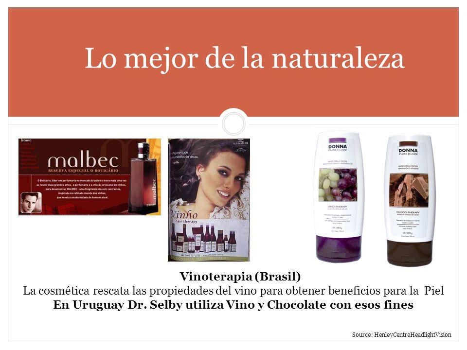 Lo mejor de la naturaleza Vinoterapia (Brasil) La cosmética rescata las propiedades del vino para obtener beneficios para la Piel En Uruguay Dr. Selby