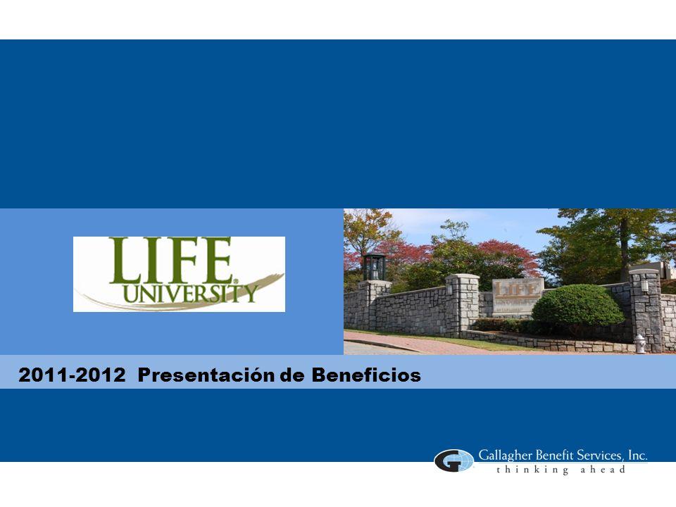 2011-2012 Presentación de Beneficios