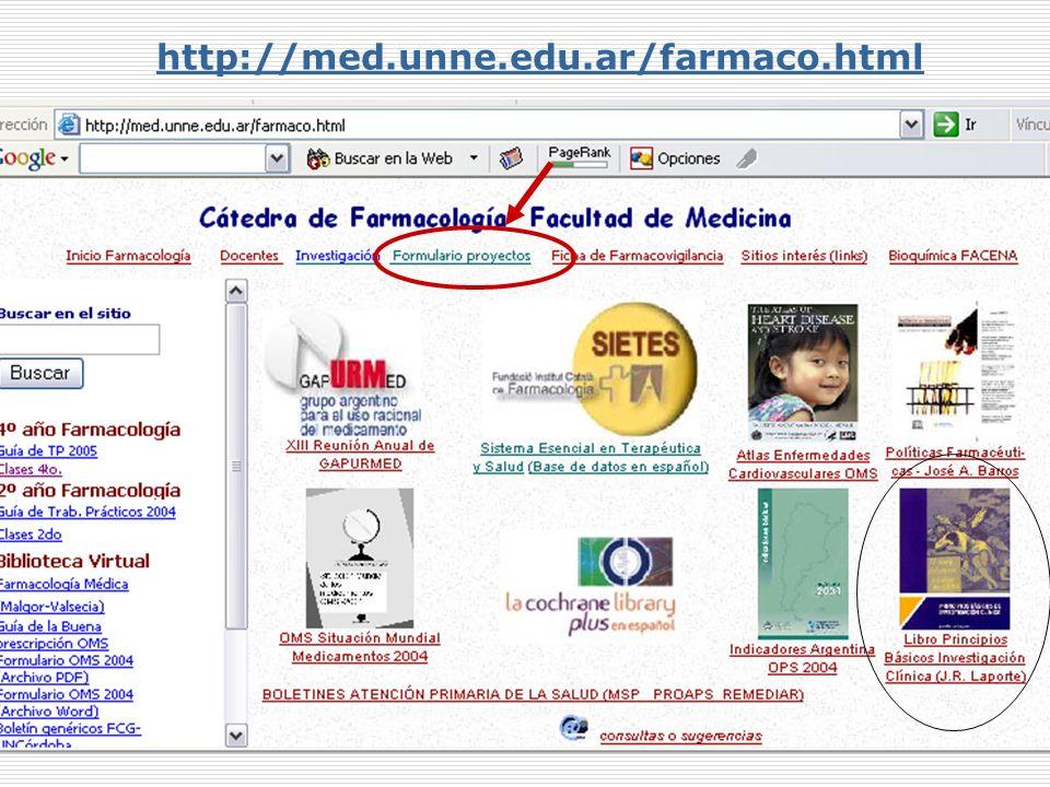 Mabel Valsecia http://med.unne.edu.ar/farmaco.html