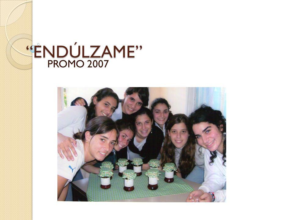 ENDÚLZAME PROMO 2007