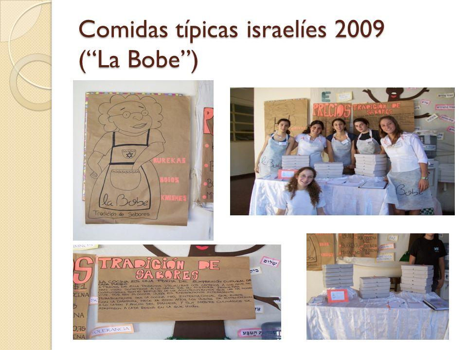 Comidas típicas israelíes 2009 (La Bobe)