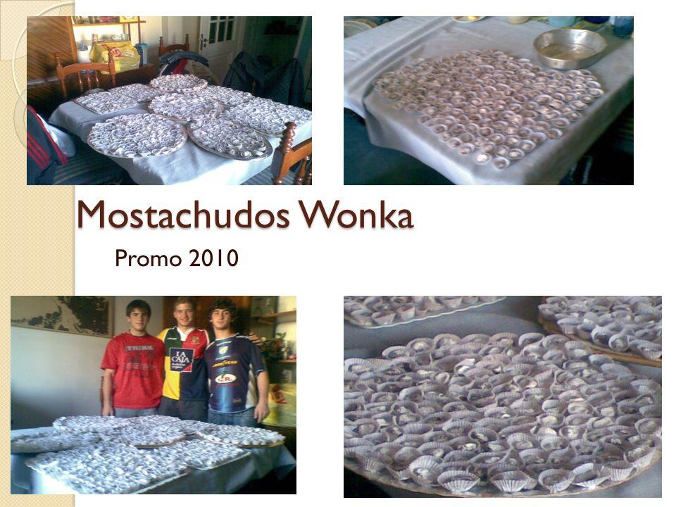 Mostachudos Wonka Promo 2010