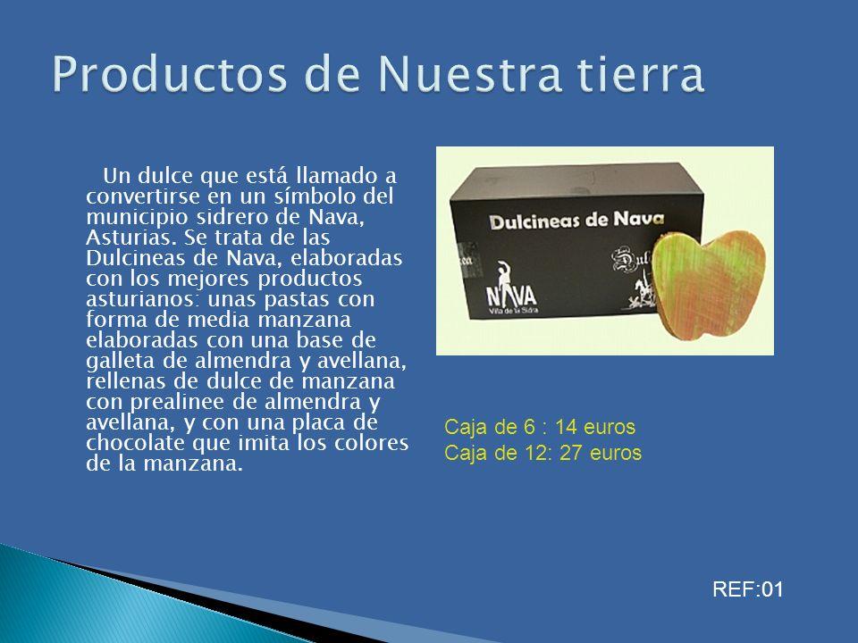 Un dulce que está llamado a convertirse en un símbolo del municipio sidrero de Nava, Asturias. Se trata de las Dulcineas de Nava, elaboradas con los m