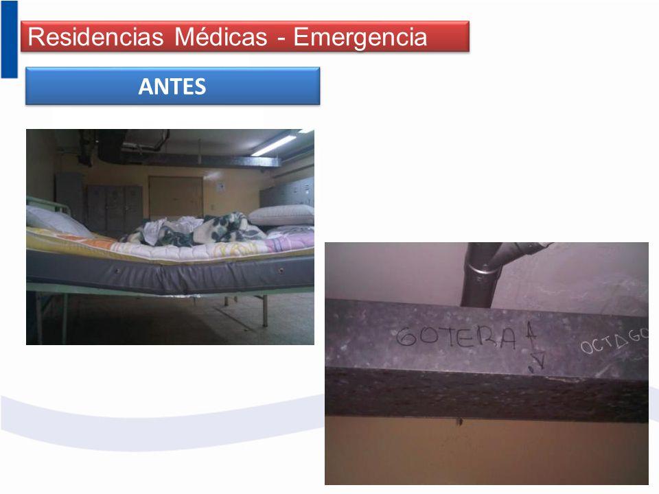 Residencias Médicas - Emergencia ANTES