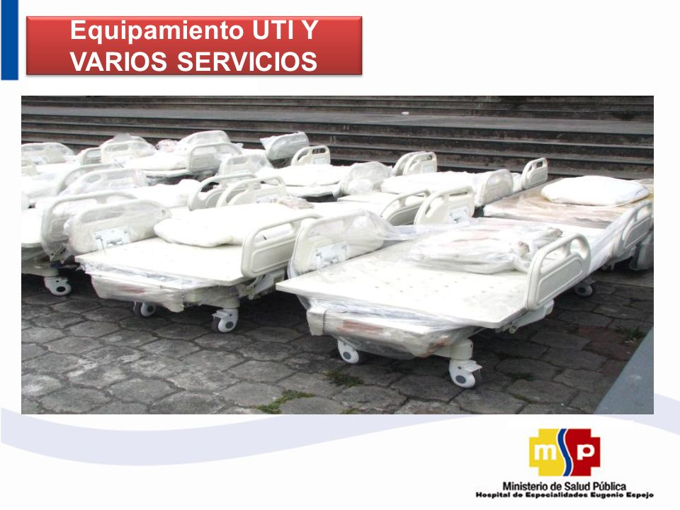 Equipamiento UTI Y VARIOS SERVICIOS
