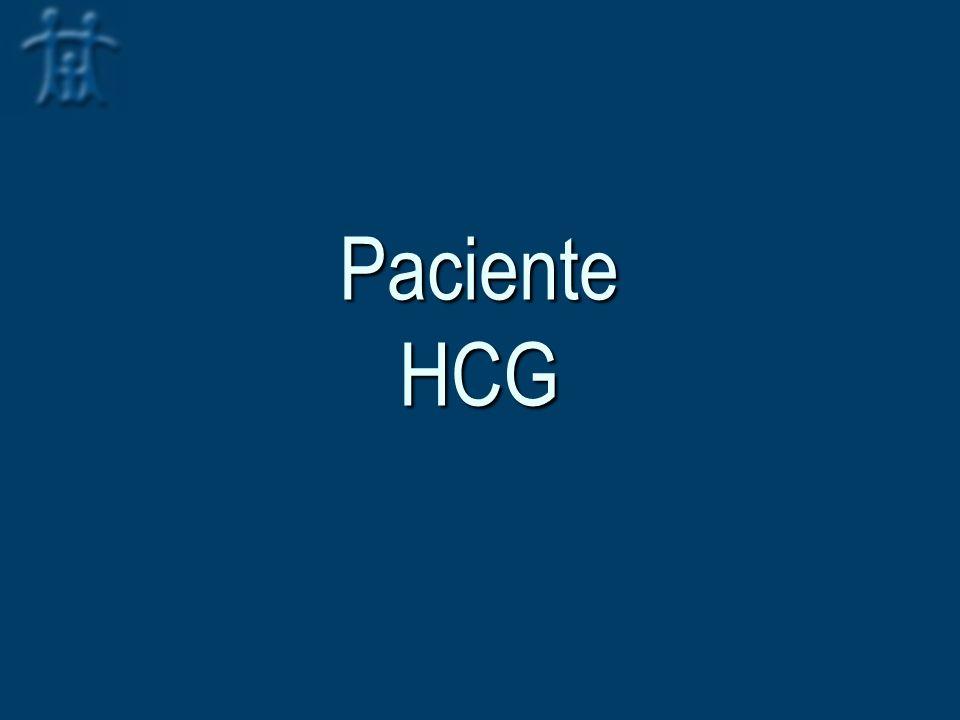 Paciente HCG