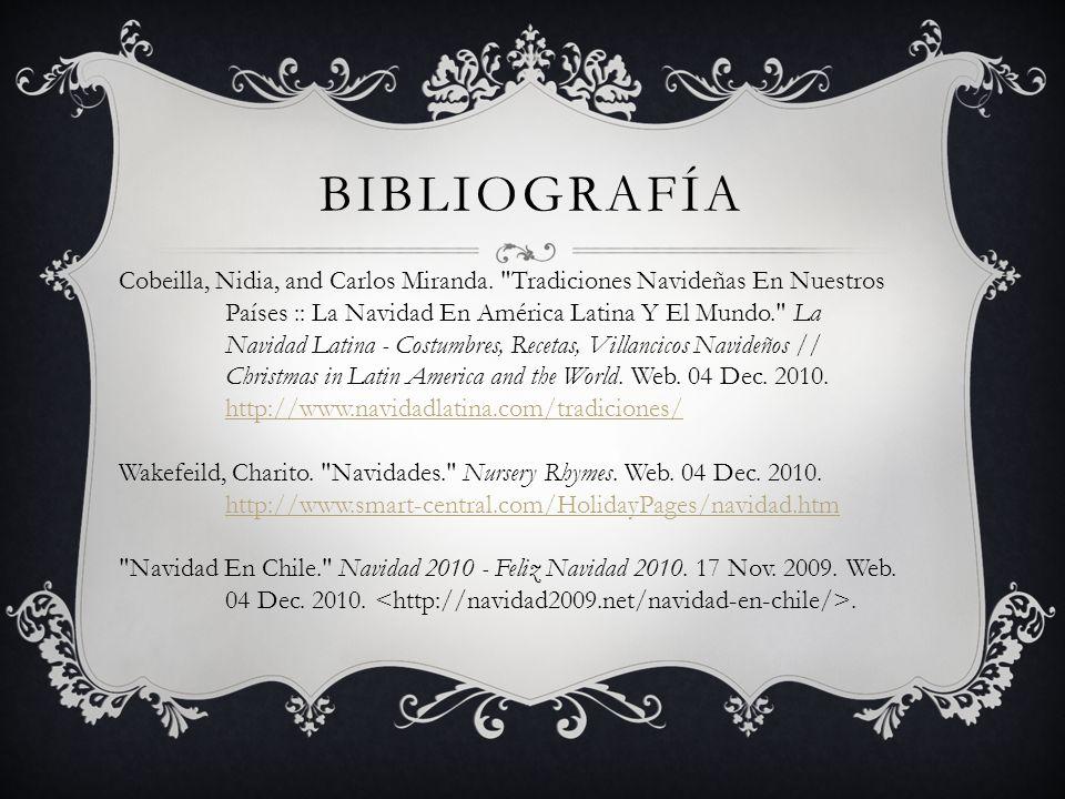 BIBLIOGRAFÍA Cobeilla, Nidia, and Carlos Miranda.