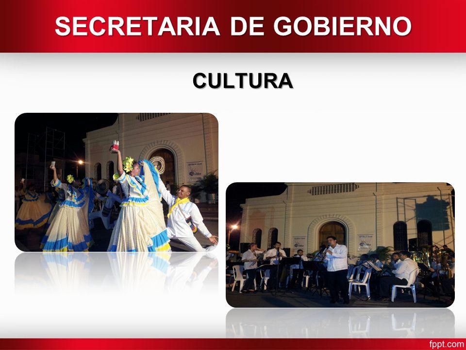 SECRETARIA DE GOBIERNO CULTURA