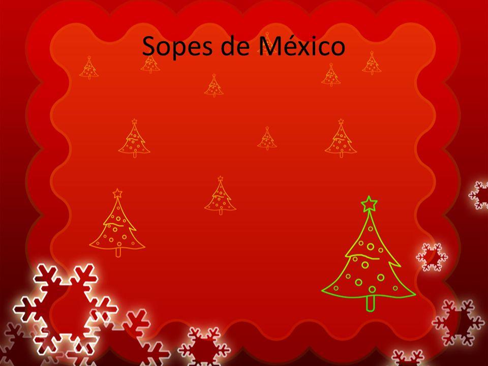 Sopes de México