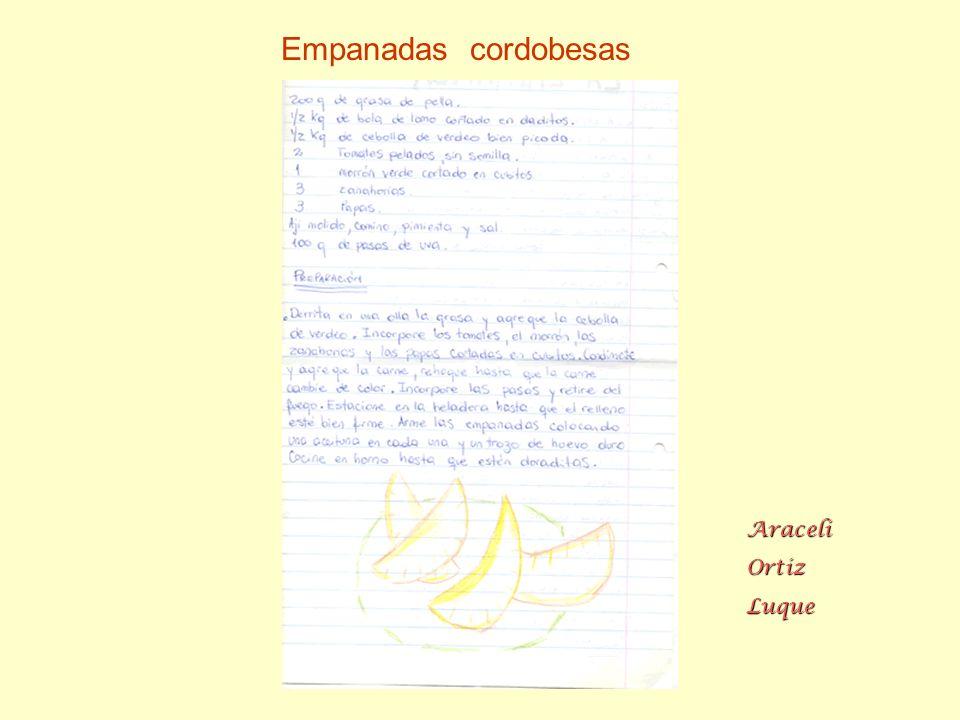 Nahuel López Empanadas mendocinas