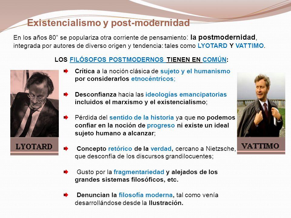 El texto que comentaremos en clase es: El existencialismo es un humanismo.